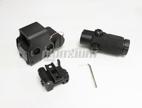 EOTECH Style EXPS3 Red Dot+G33 3X Magnifier Set