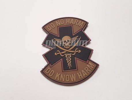 "EMERSON PVC ""DO NO HARM"" Patch-4"