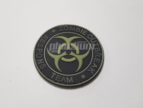 EMERSON zombie outbreak PVC Velcro Patch -2