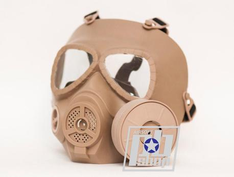 Противогаз FMA Sweat prevent mist fan mask (DE)