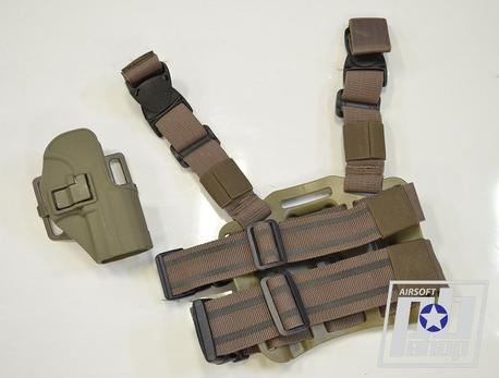 Кобура Blackhawk CQC Serpa Holster for Glock (Tan)