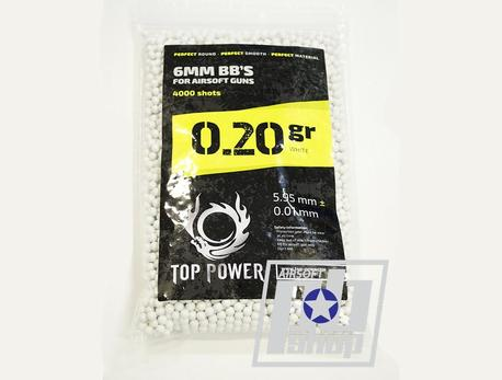 Шары Top Power 0,20