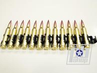 Пулеметная лента Dummy 5.56mm Bullet Chain For:M249 AEG