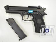 WE BERETTA M92F, CO2, черный, металл