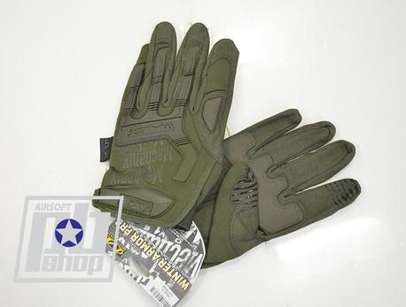 Перчатки Mechanix M-Pact Covert  реплика Green (размер/M)